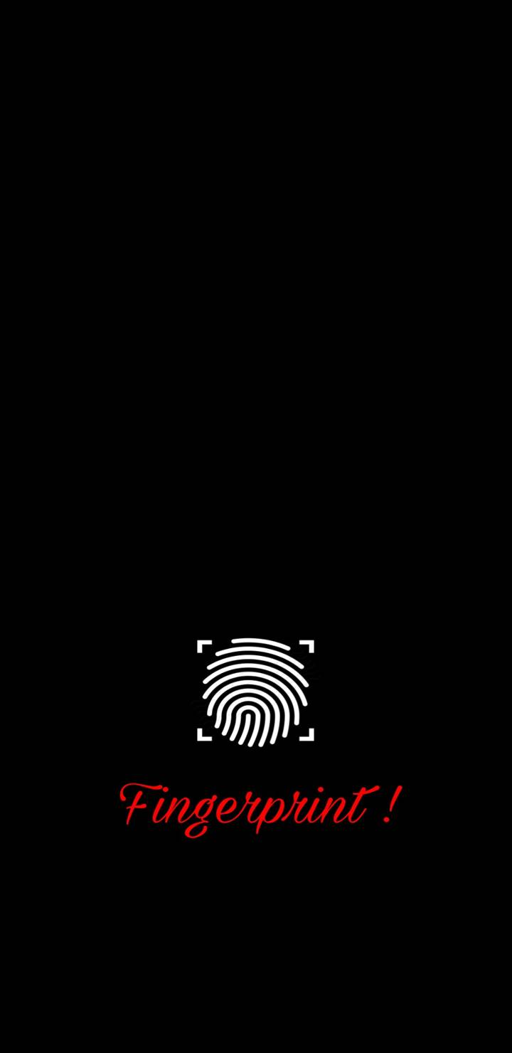 Screen Fingerprint Sensor iPhone Wallpaper