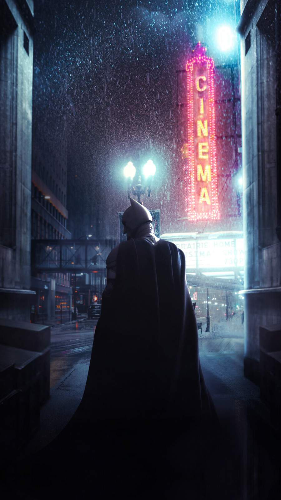 The Batman 2021 iPhone Wallpaper