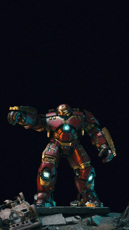 The Hulkbuster iPhone Wallpaper