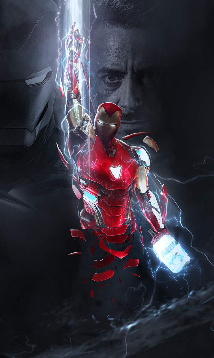 The Iron Man iPhone Wallpaper