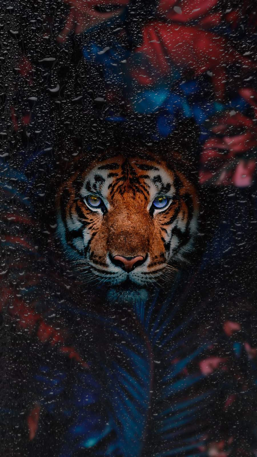 Tiger Art iPhone Wallpaper