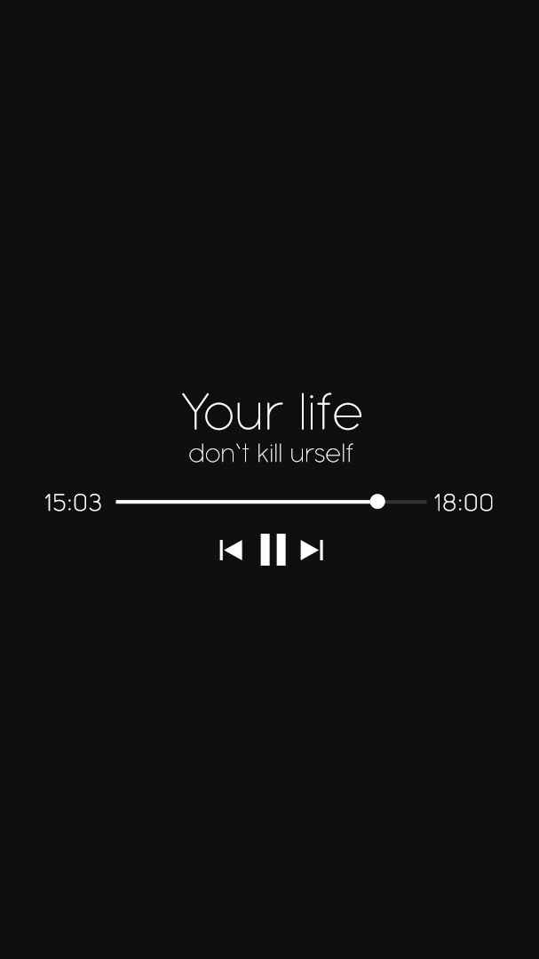 Your Life Music iPhone Wallpaper